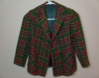 Vintage 1960's Young Girls'  Wool Jacket
