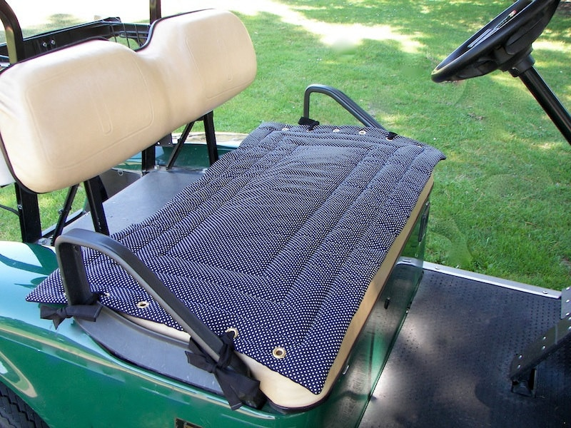 Golf Cart Seat Cover A Fashionable Functional Accessory To