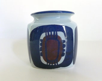 Vintage 1960's Danish Modern Inge-Lise Koefoed Royal Copenhagen Jar