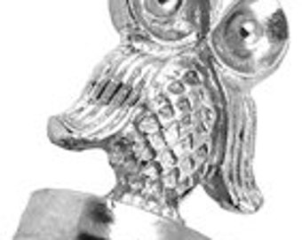Owl Initial Wax Seal Stamp for Letters