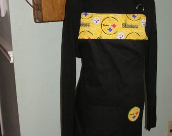 Pittsburgh Steelers Football Fan  Apron