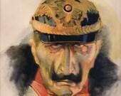 1917 World War One Art Print German  Soldier
