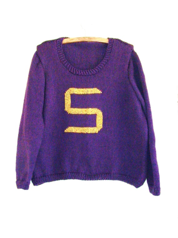 Harry Potter /Weasley Hand Knitted Sweater- Reserved for Diana Only (Deposit)