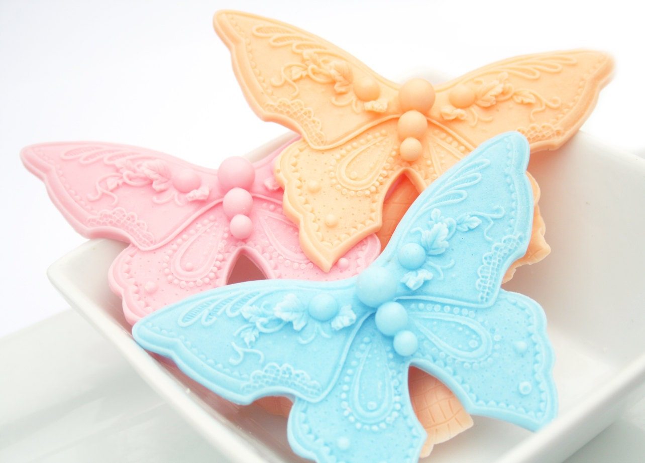 30 baby shower favors butterfly soap favors wedding shower