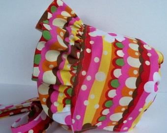 Easter Bonnet, Baby Bonnet, Gardening Play Bonnet, Sun Hat, Pioneer Bonnet, Toddler Bonnet, Sun Bonnet, Reversible Bonnet