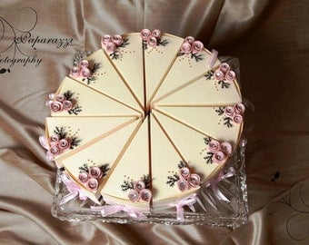 Paper cakes - Favour boxes - WEDDING - VINTAGE GLAM