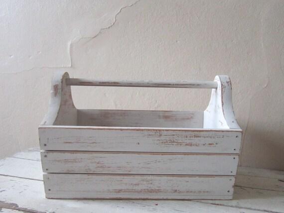 BASKET - Wooden basket - Cottage chic- rustic farmhouse