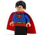 16GB USB Memory Drive in a Superman original LEGO minifigure