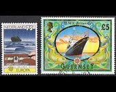 36  Postage Stamps - Ships - Boats