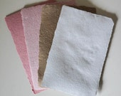 Recycled Paper, 4 Sheets