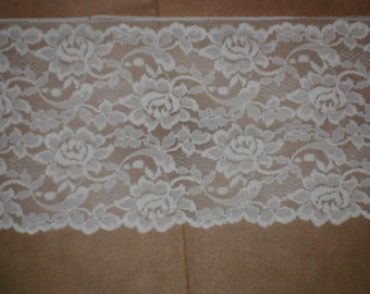 Vintage Chantilly Lace Fabric