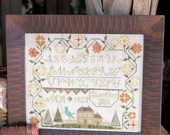 Shooter's Hill : Cross Stitch Pattern by Heartstring Samplery