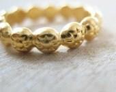 Slim stacking rings, wedding ring, wedding band, gold, silver, rose gold,  Shalom