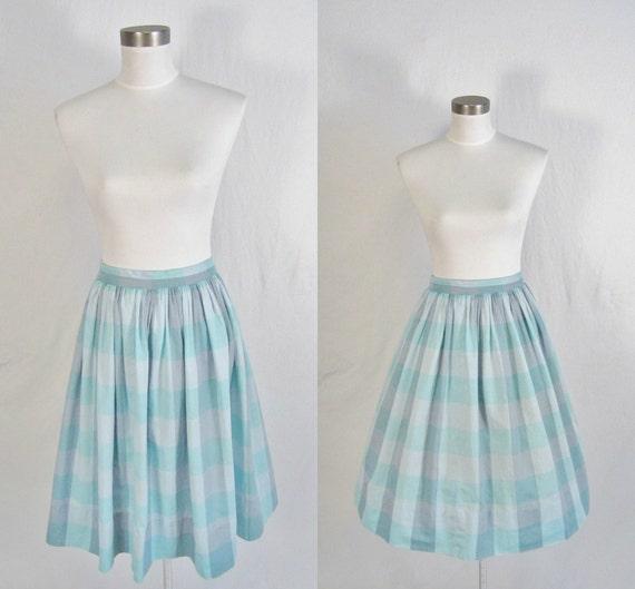 1950's Full Circle Skirt S M