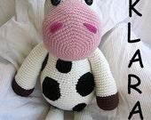 Big Cow Klara Crochet Pattern