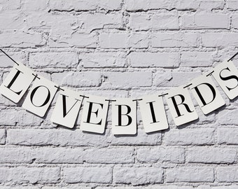 Love Birds Rectangle Banner