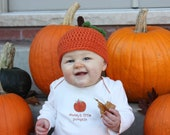 Crochet PATTERN - Pumpkin Hat -  Instant download