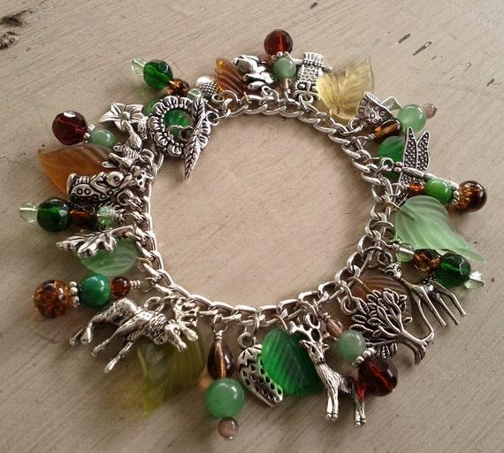 Woodland Friends Charm Bracelet