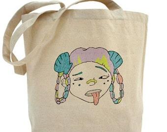 Tokyo Bay Seashell Girl Tote Bag