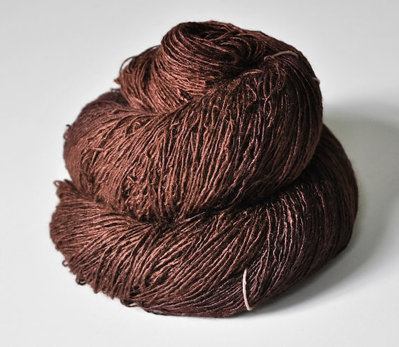 Mother earth is stirring - Tussah Silk Yarn Fingering weight