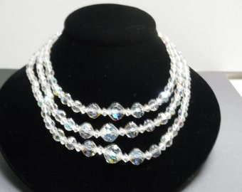Vintage Chrystal Necklace