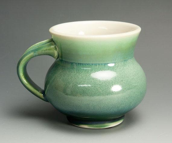 Porcelain handcrafted coffee mug or tea cup 575
