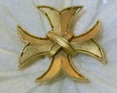 Vintage Crown Trifari Maltese Cross