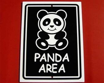 Panda Sign - Panda Bear Sign