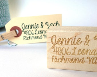 Return Address Stamp. Custom Stamp. Personalized Address Stamp for Wedding Invitations / wedding gift idea