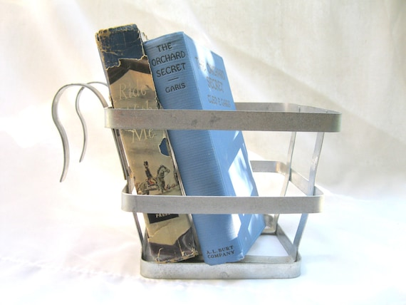 Vintage Aluminum Basket / Urban Industrial / Hanging / Listing for One / Four Available
