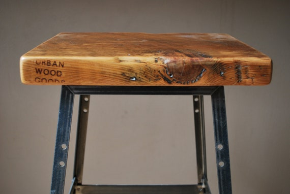 Items Similar To 1 Reclaimed Wood And Steel Industrial
