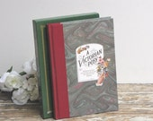 Vintage Poetry Book Illustrated Hardback with Slipcase from AllieEtCie