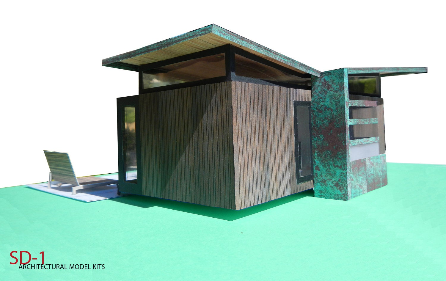 Shipping Container House Architectural Model Kit