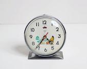 Diamond Alarm Clock With Hen
