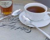 Vintage Silverware Silver Plate Tea Honey Spoon Set