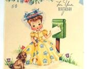 AK7 Vintage Birthday Card-For Your Birthday