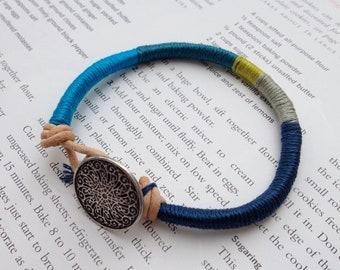 Pocket Full of Sunshine Friendship Bracelet - DENIM