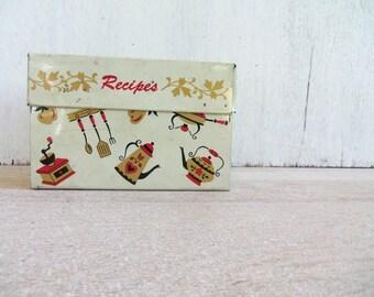 Vintage Retro Recipe Tin
