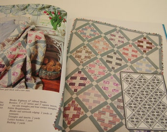 New Ideas For Lap Quilting By Georgia Bonesteel Vintage Book