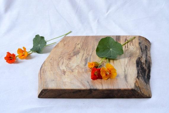 Organic Original, Natural Edge Serving Board 661, Ready to Ship