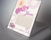 2013 Botanical Print Desk Calendar
