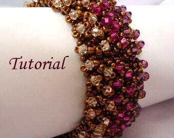 Pret a Party Bracelet - Beading Tutorial, Instant download  PDF