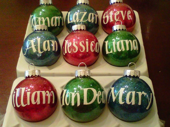 Personalized christmas ornament 5 for Personalized christmas photo ornaments