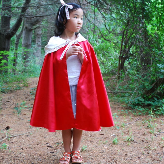 Girls Cape-Red Riding Hood