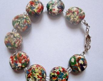 Confetti Bracelet and Earrings Set