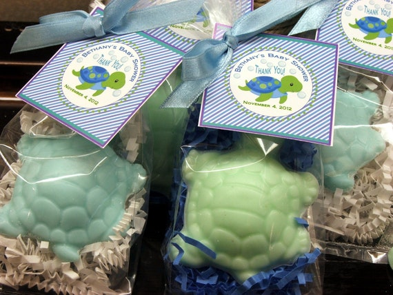 Italian Boy Name: 10 Turtle Soap Favors Party Favors Baby Shower Bridal Shower