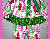 Little Miss Funky Christmas Pajamas