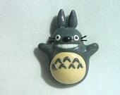 My Neighbor Totoro Inspired Totoro Magnet
