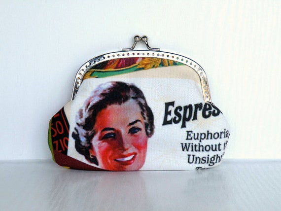 One cup of coffee purse