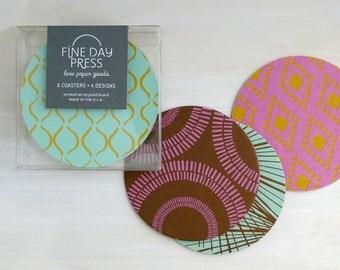 Drink Coasters, Set of 8